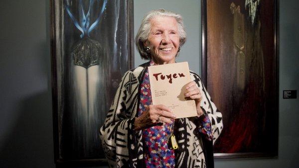 Museum Kampa vystavuje tvorbu Toyen, Meda Ml�dkov� ji jako jedna z m�la pamatuje osobn�