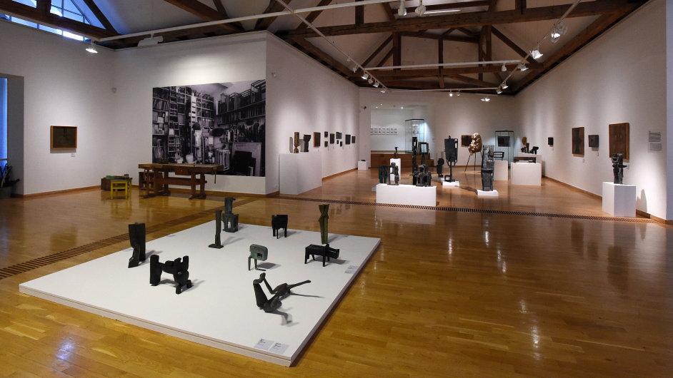Snímek z výstavy Zbyňka Sekala