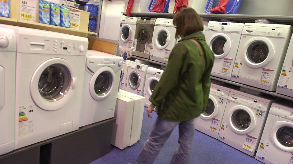 Pračka. Ilustrační foto