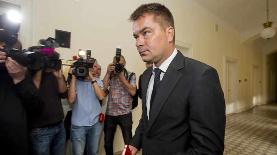 Marek Dalík u soudu v červnu 2014.