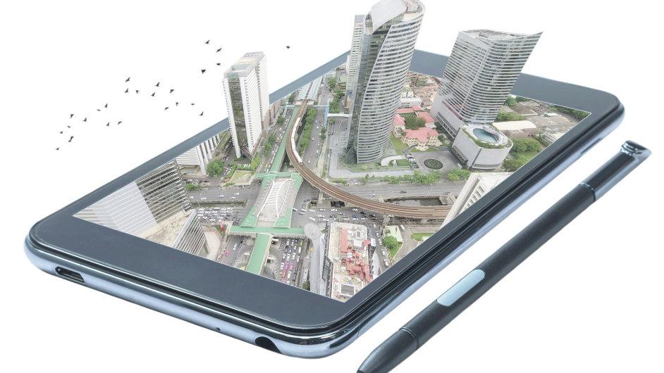 Smart City – chytré město (ilustrace)
