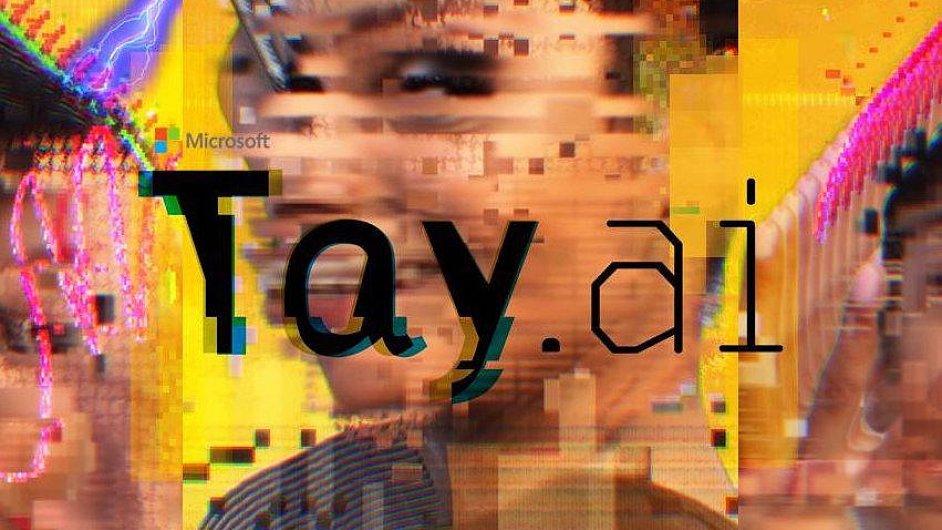 Obrázek ze Twitterového účtu umělé inteligence Tay