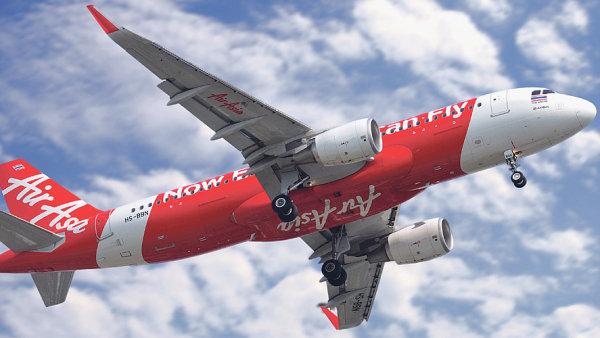 Letecká společnost Air Asia.