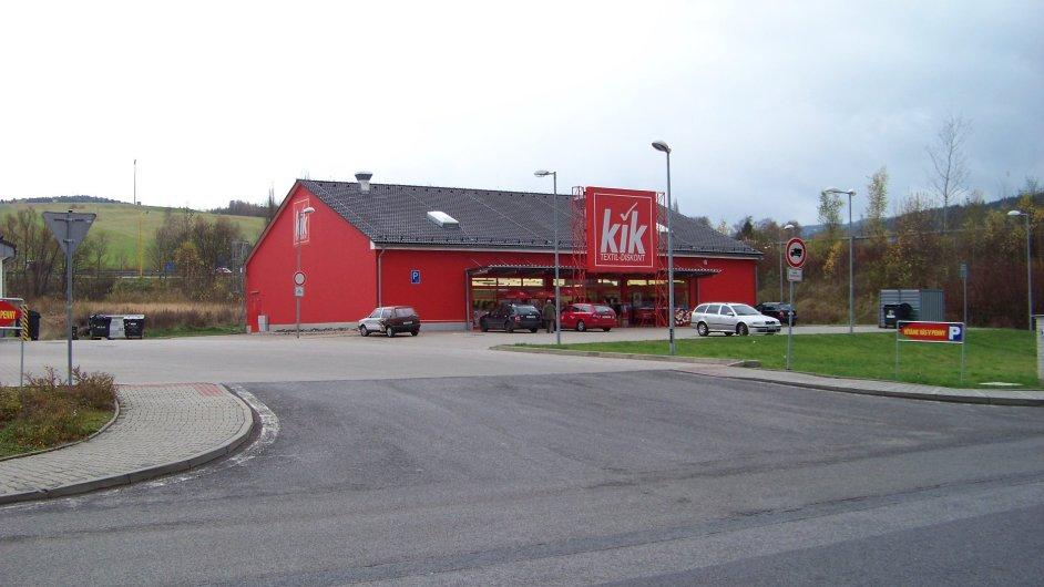Prodejna Kik - Ilustrační foto.