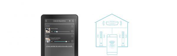 Wi-Fi reprosoustava Energy Sistem