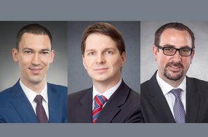 František Korbel, Dušan Sedláček a Lukáš Syrový, společníci kanceláře Havel, Holásek & Partners