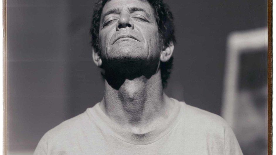 Polaroidový snímek Lou Reeda roku 2002 pořídil Julian Schnabel.