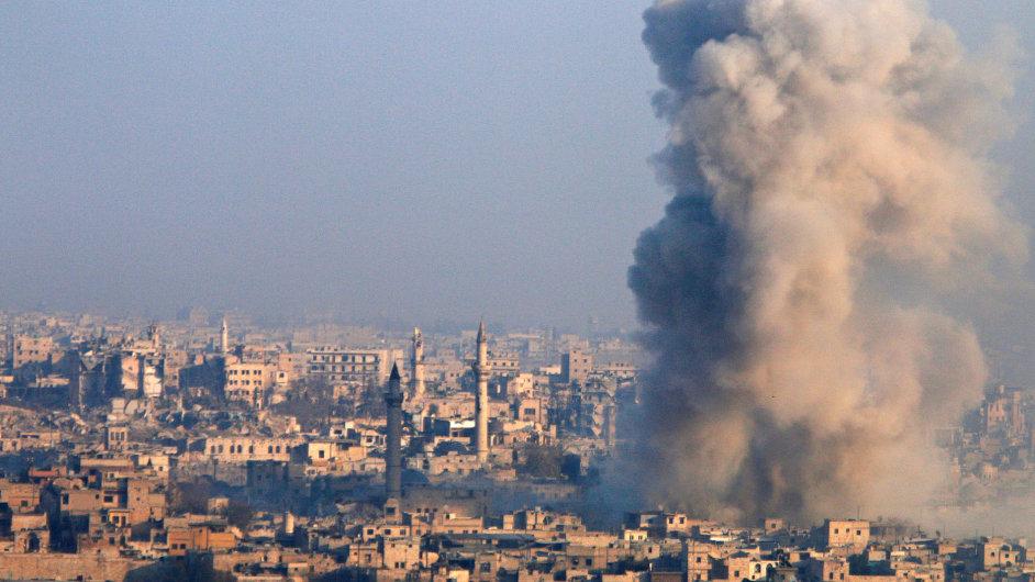 Aleppo, Sýrie, válka