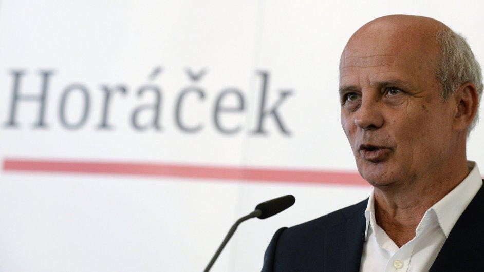 Michal Horáček představil tým svých poradců.