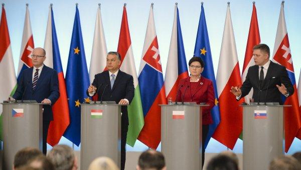 Zástupci zemí visegrádské čtyřky se sešli v Polsku.