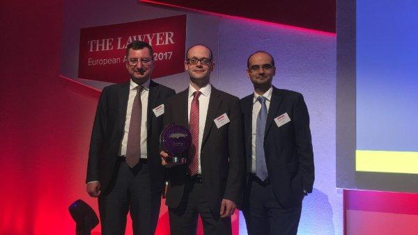 Kinstellar: Právnická firma roku v regionu střední Evropy