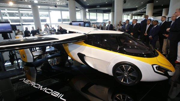 Jednou z hlavních hvězd čtrnáctého ročníku výstavy je slovenský AeroMobil.
