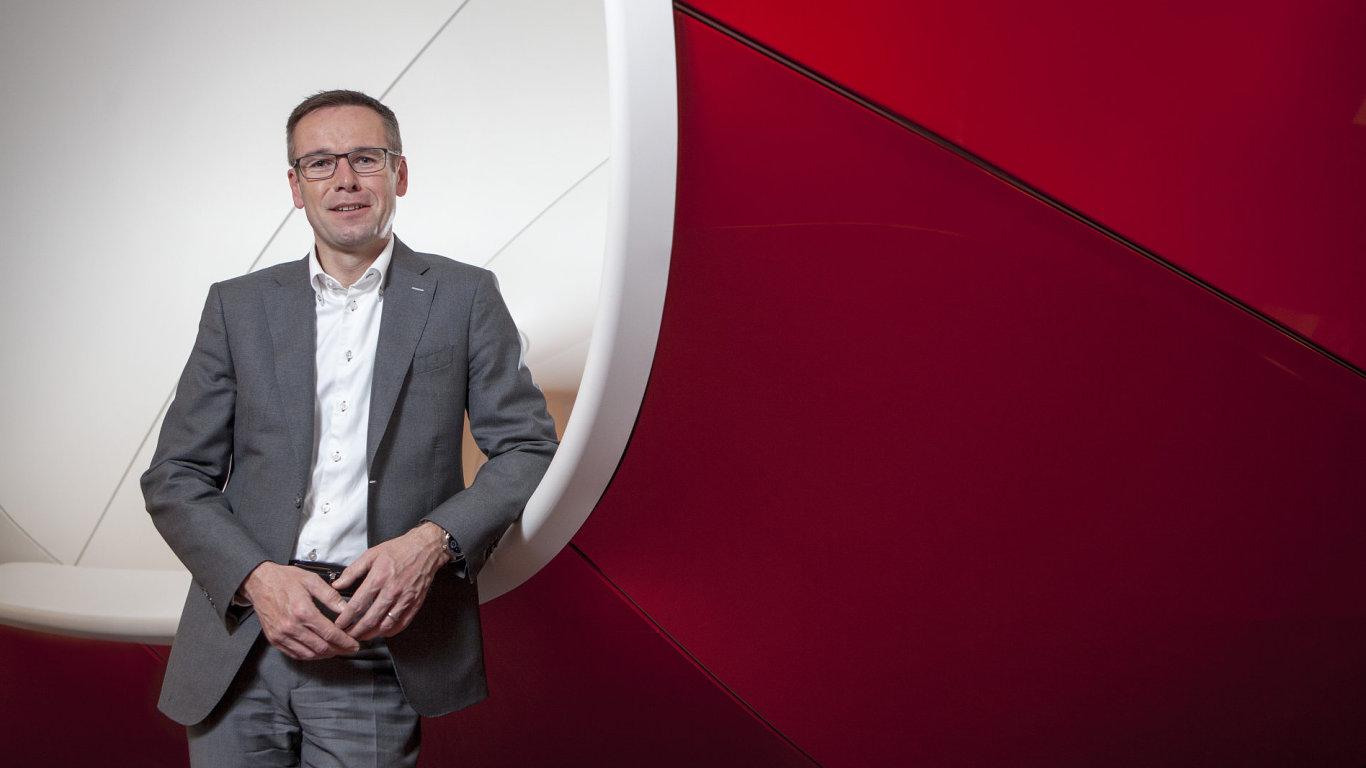 Jiří Báča, Vodafone