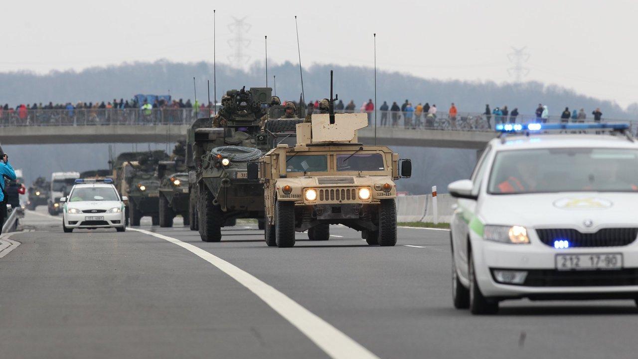 Americký konvoj v České republice