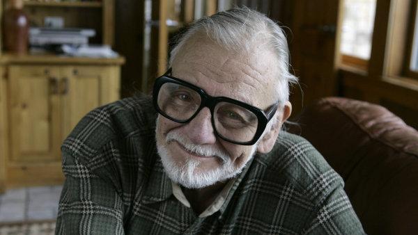George A. Romero je na snímku z filmového festivalu Sundance, kde roku 2008 uvedl svůj poslední film Survival of the Dead.