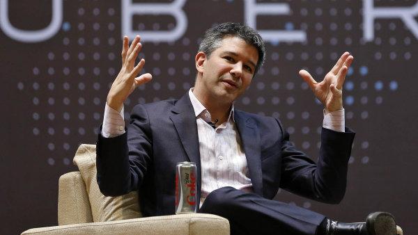 Spoluzakladatel alternativní taxislužby Uber Travis Kalanick je stále jedním z největších akcionářů.