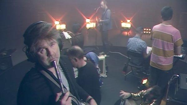 Snímek z nového videoklipu LCD Soundsystem.