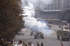 Unikátní filmové záběry z prvních hodin okupace se po letech vracejí do Česka. Pořídil je katalánský obchodník