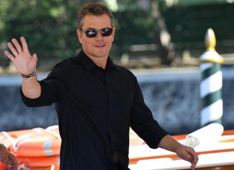 Do festivalového dějiště ve středu dorazil Matt Damon, hvězda filmu Downsizing.