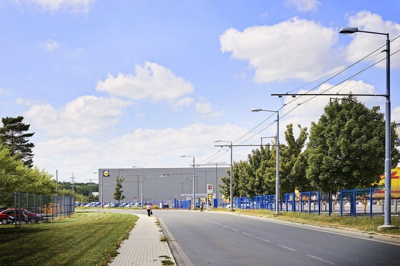 Distribuční centrum Lidl Plzeň