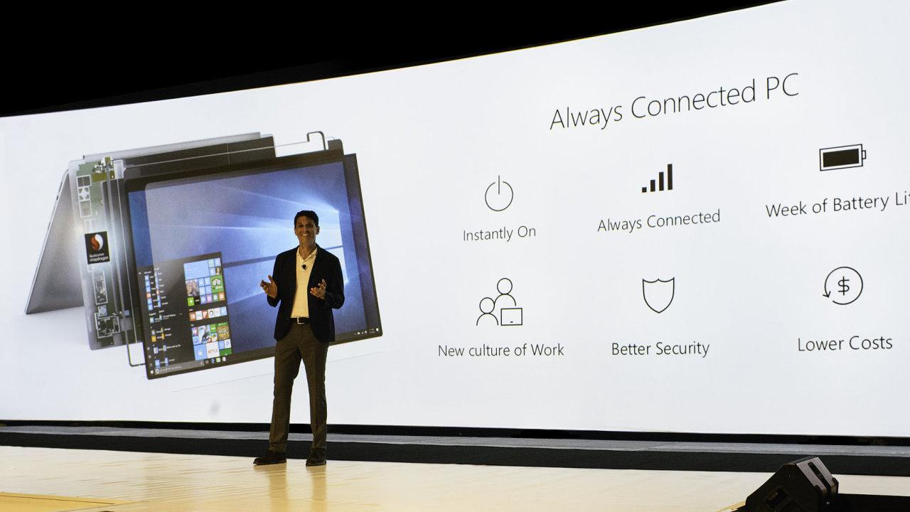 Představení nových počítačů s procesory Snapdragon od Qualcommu