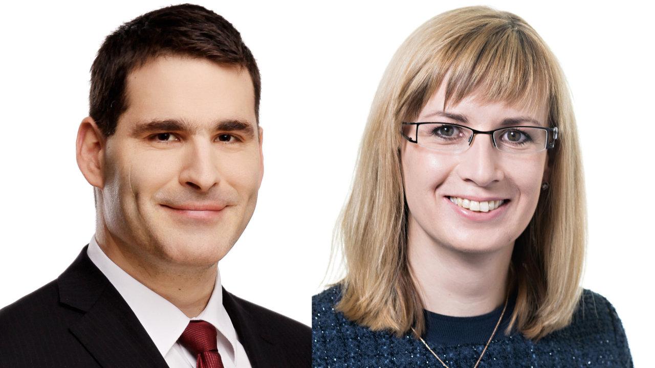 Martin Houska, partner, Zuzana Prokopcová provozní ředitelka společnosti Moore Stephens