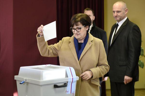 Manželka Jiřího Drahoše Eva Drahošová
