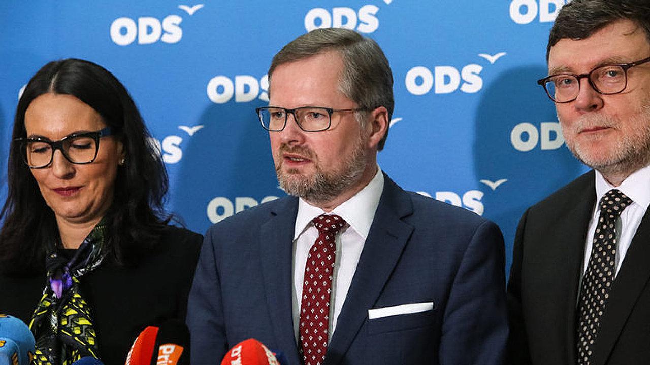 Jednání o nové vládě: Andrej Babiš se setkal s šéfem ODS Petrem Fialou