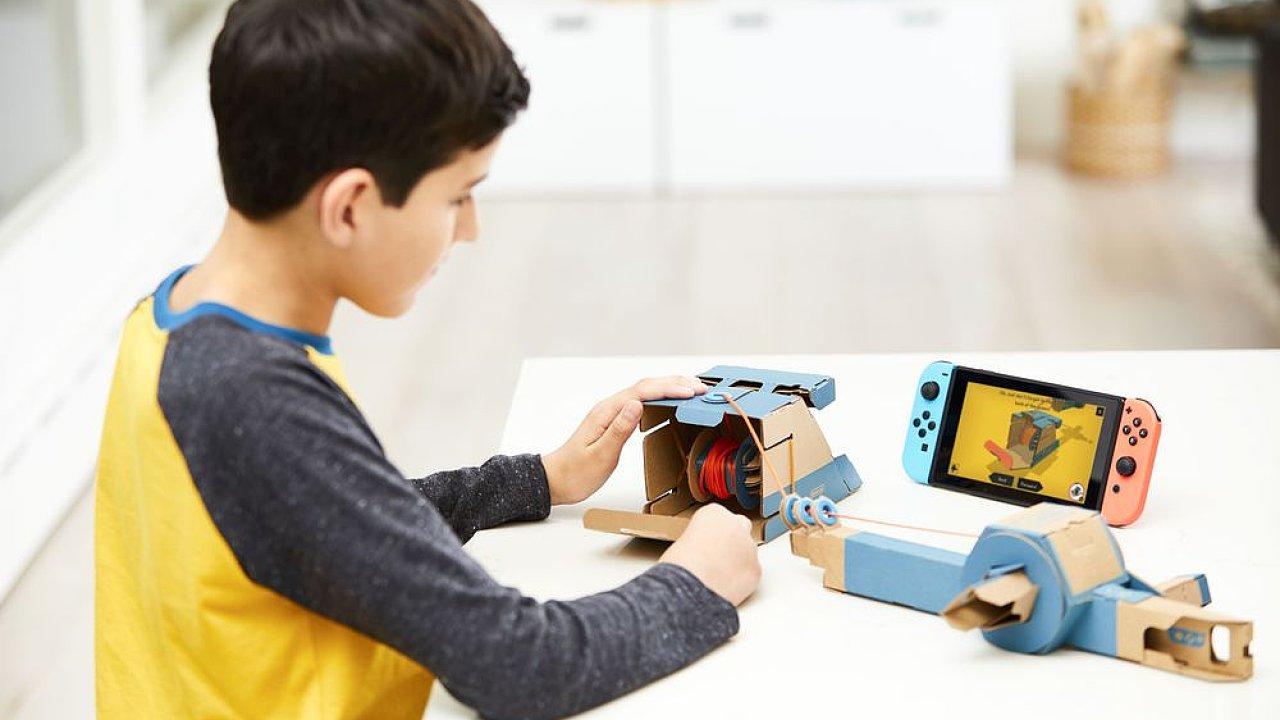 Nintendo začne prodávat interaktivní hračky z kartonu, říká jim Toy-Con