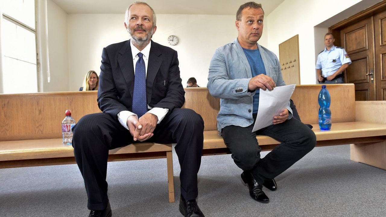 Martin Pechan (vlevo) a Aleš Zagora.