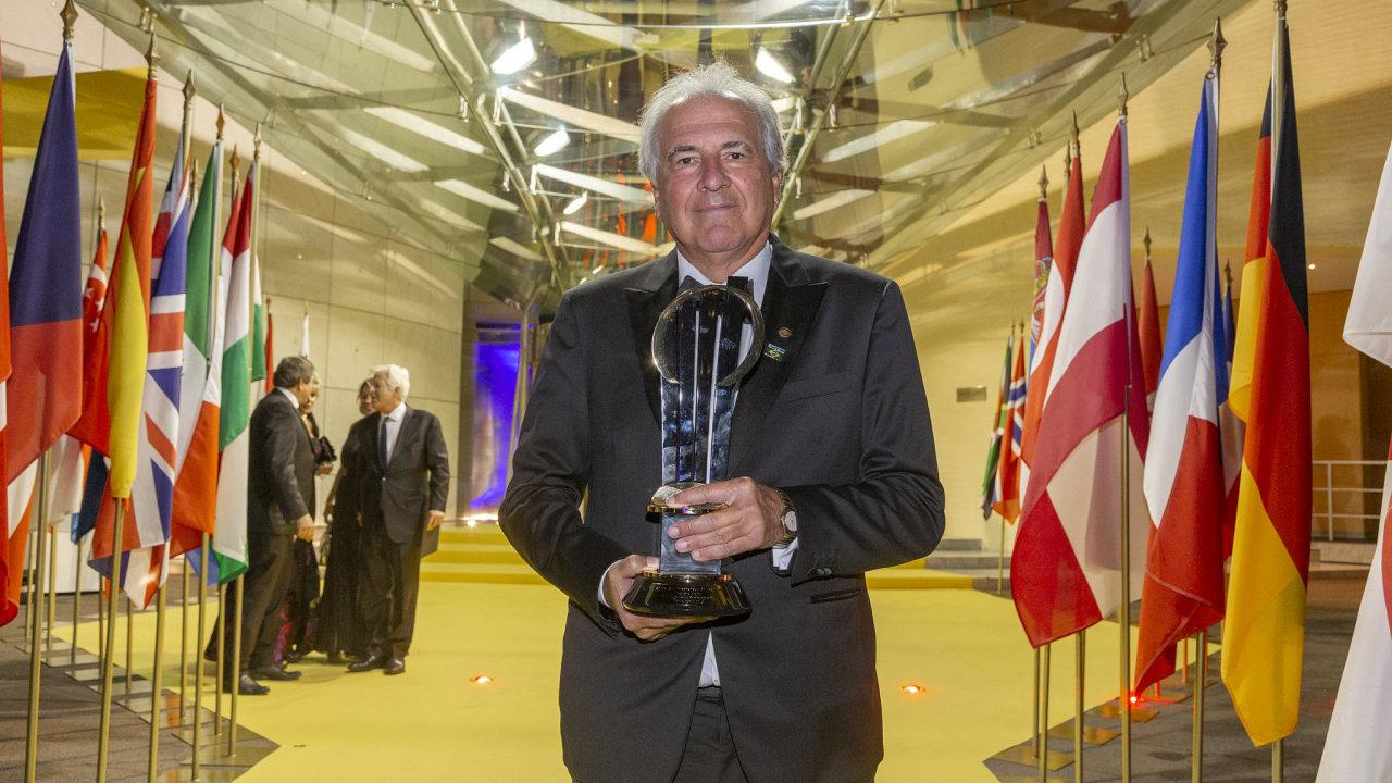 Světový podnikatel roku Brazilec Rubens Menin.