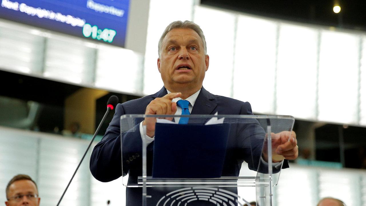 Viktor Orbán europarlament