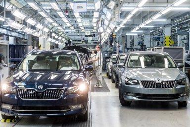 Tržby Škody Auto vzrostly o 14,5 procenta.