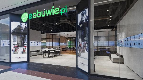 Prodejna Eobuwie v Polsku