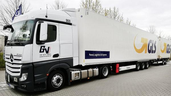 GLS testuje v Německu gigalinery.