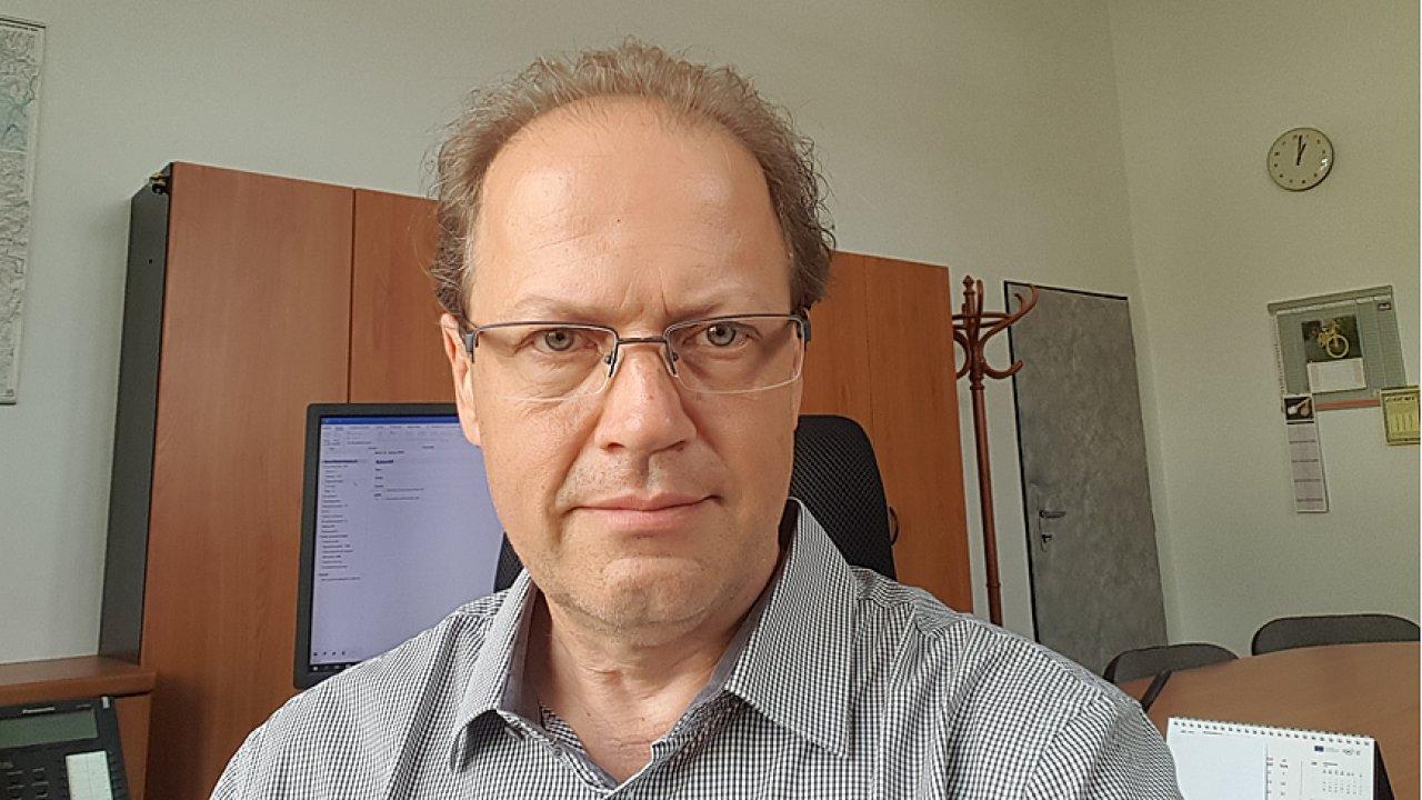 Pavel Minář, ředitel Odboru přípravků na ochranu rostlin Ústředního kontrolního a zkušebního ústavu zemědělského.
