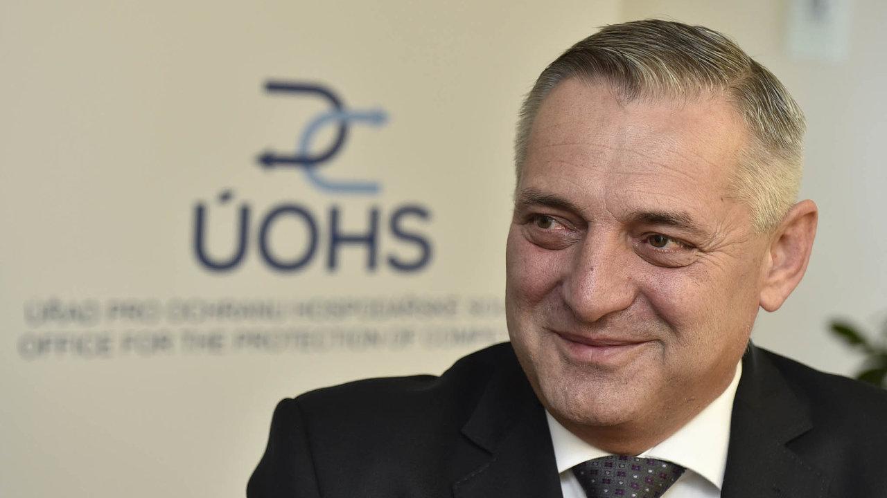 Šéf antimonopolního úřadu Petr Rafaj.