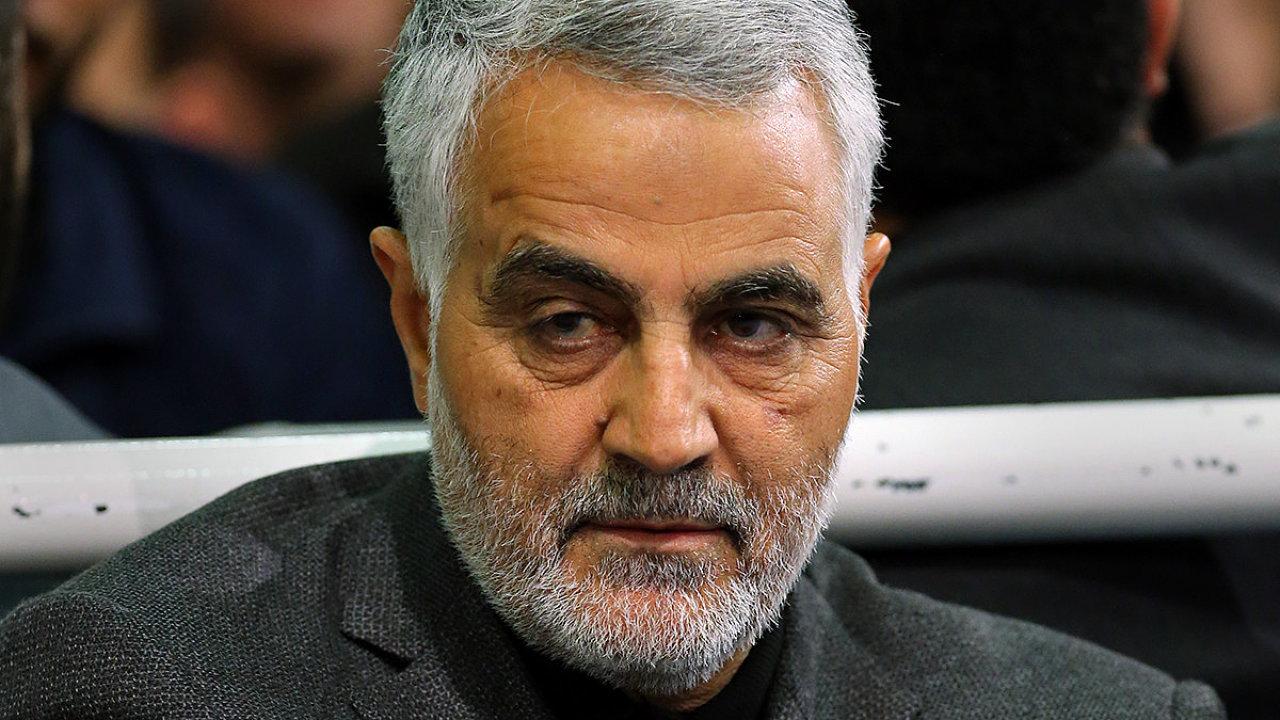 Zesnulý velitel íránských elitních jednotek Kuds Kásem Solejmání.