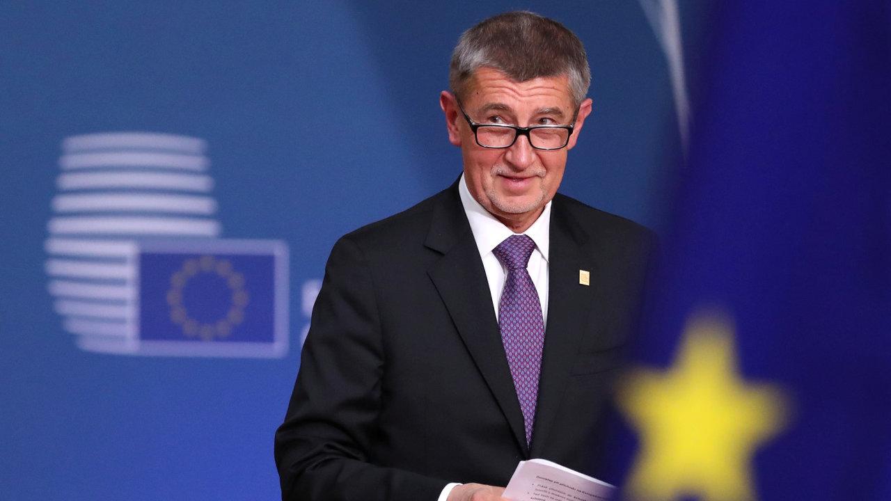 Andrej Babiš summit EU
