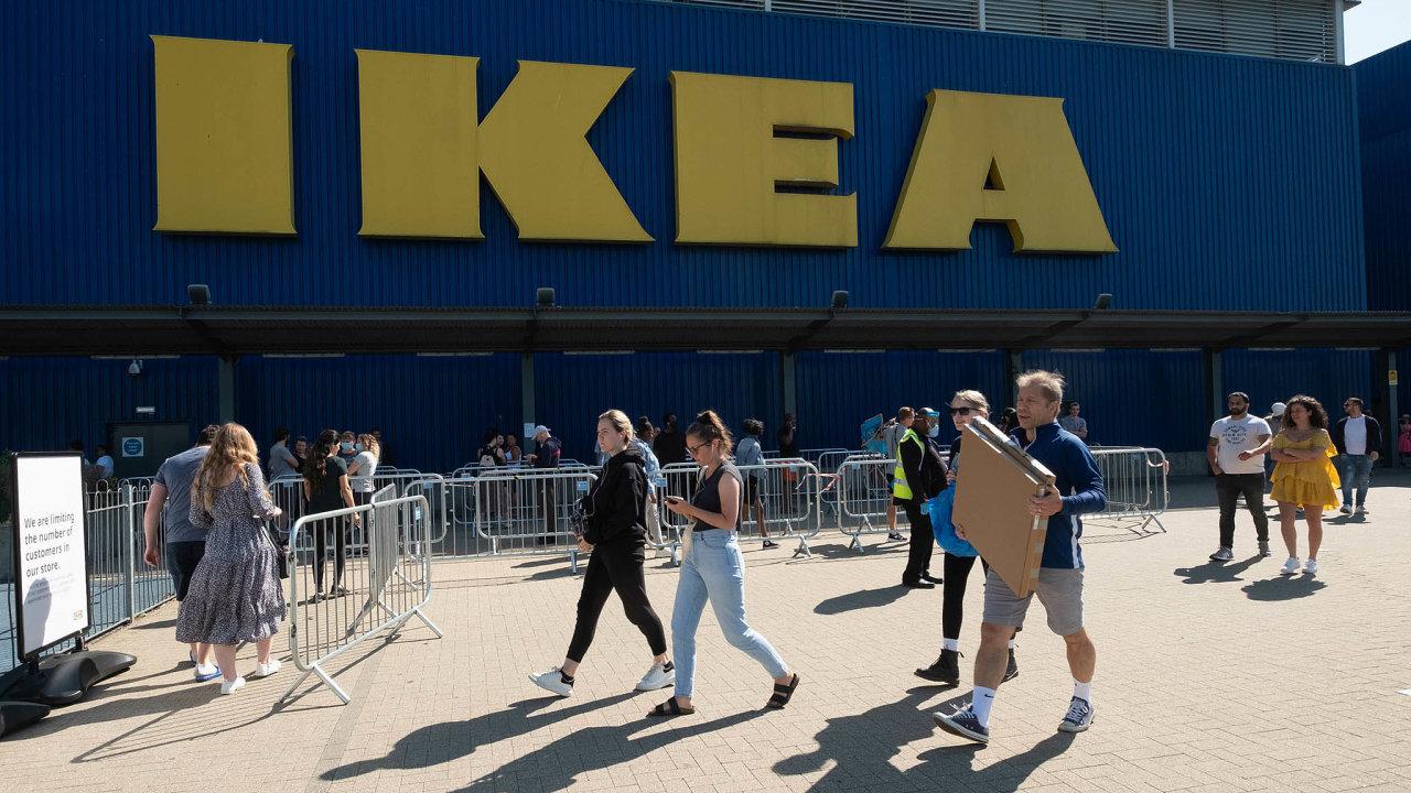 Jdeme nakupovat: Jeden znejvětších nárůstů obratu po uvolnění opatření zaznamenaly prodejny nábytku.