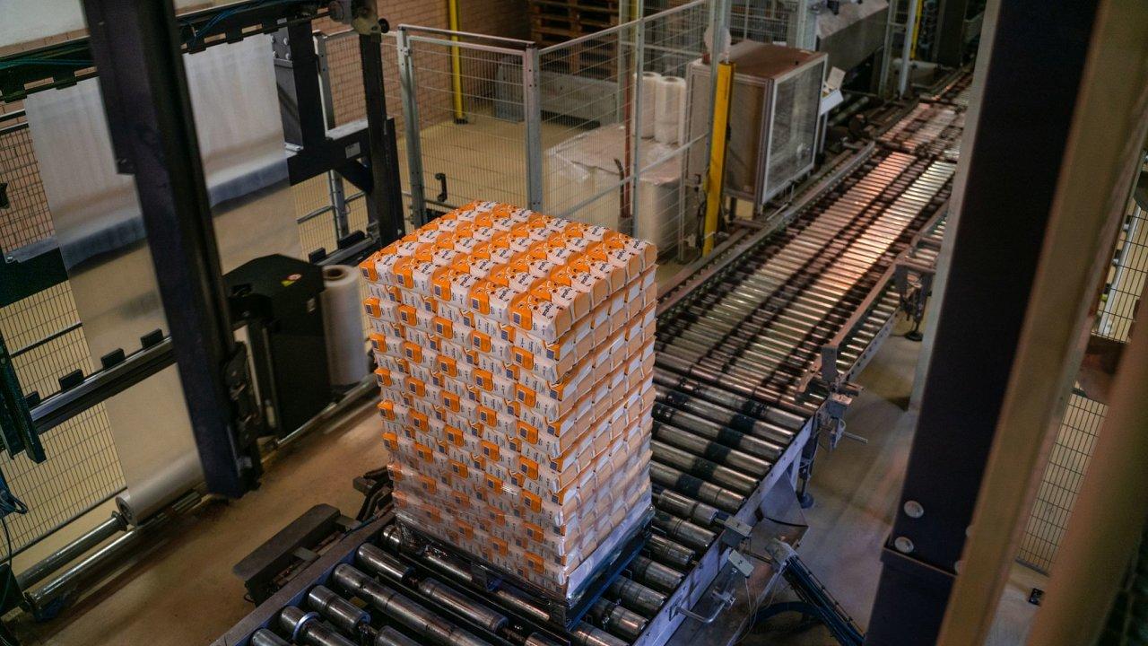Tereos distribuuje cukr na modrých paletách CHEP.