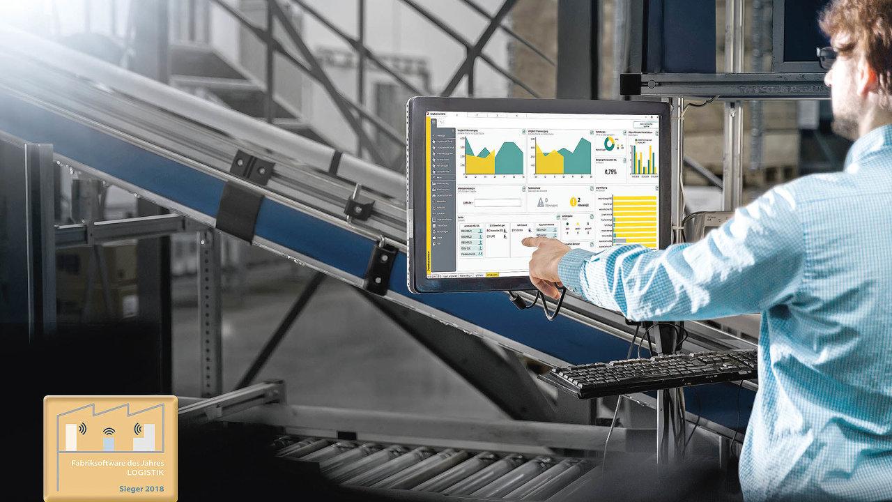 Skladový systém Jungheinrich WMS poskytuje řadu přesných dat pro zeštíhlení logistických procesů.
