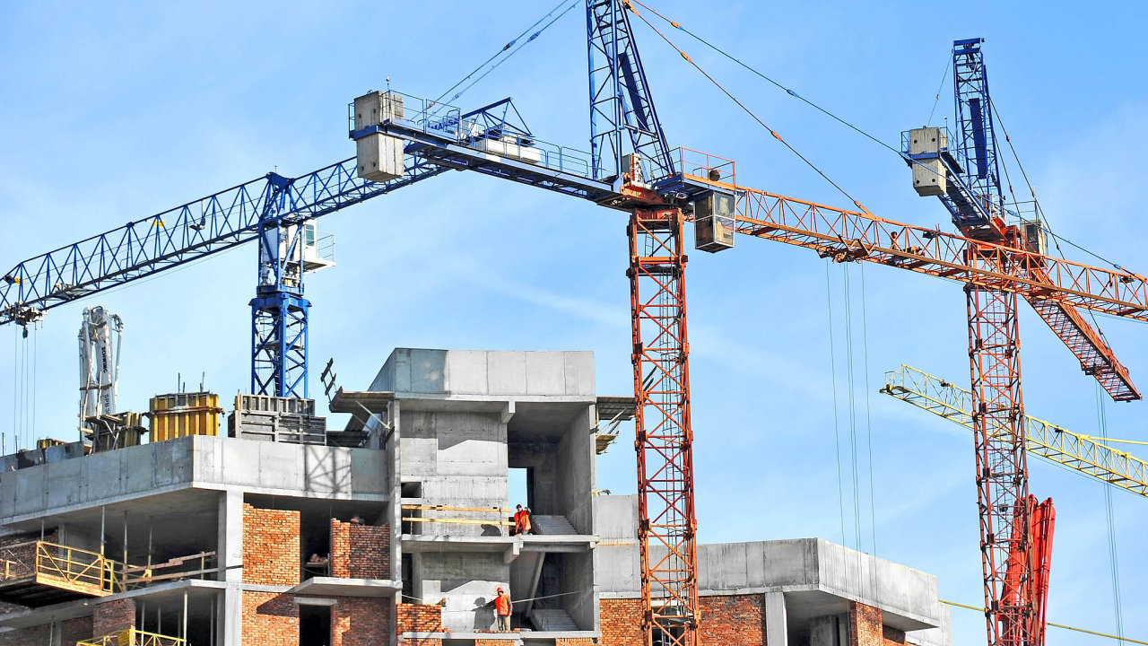 Stavebnictví patří k pilířům české ekonomiky.