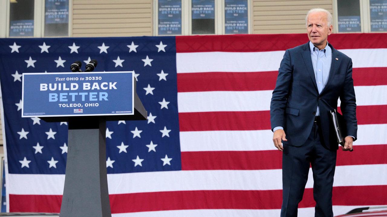 Demokrat Joe Biden je nakloněný politice šetrnější k životnímu prostředí.