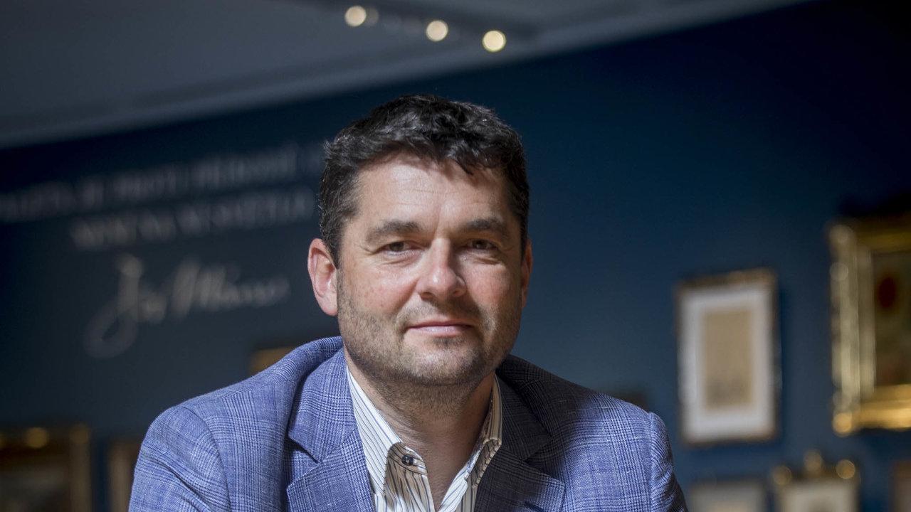 Martin Diviš, prezident České asociace pojišťoven, generální ředitel pojišťovny Kooperativa
