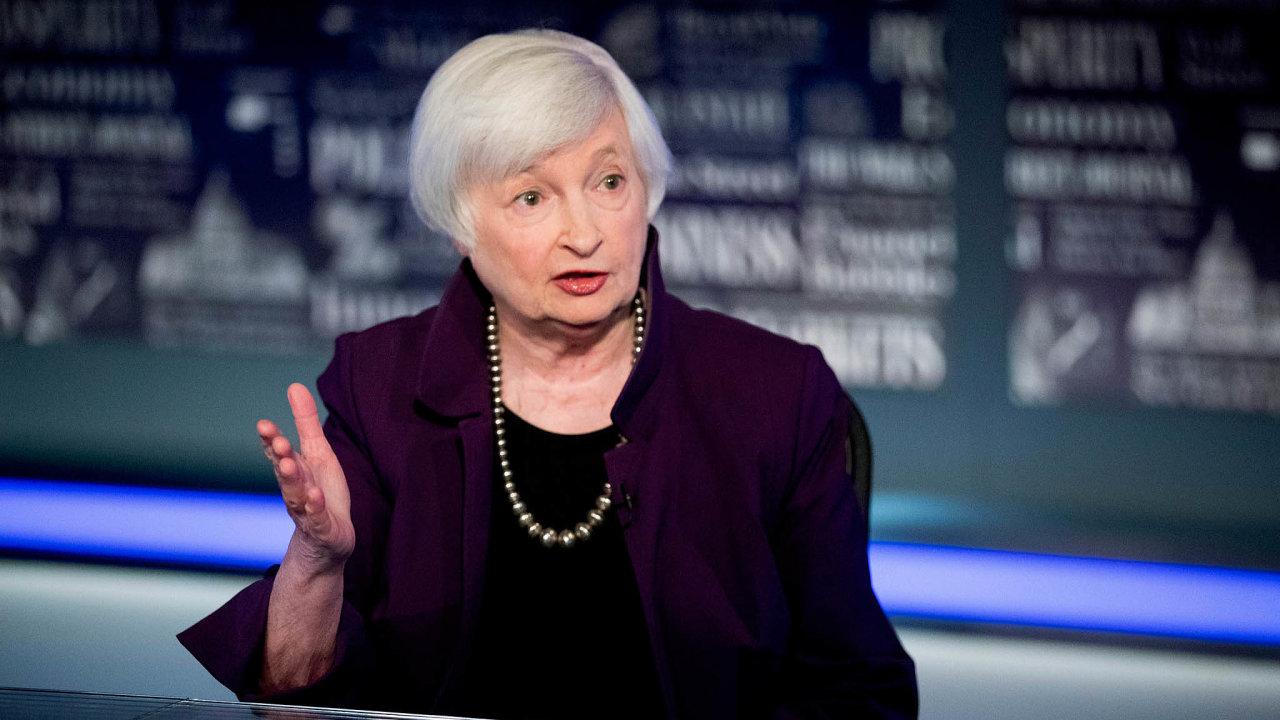 Ženy kolem Bílého domu: Ministryní financí ve vládě demokratického prezidenta Joea Bidena má být Janet Yellenová, bývalá šéfka americké národní banky.