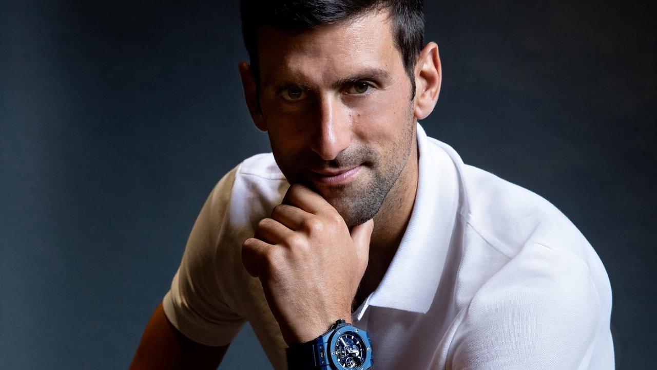 Novak Djokovič se stal novým ambasadorem hodinek Hublot.