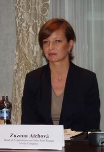 Zuzana Aichová na tlačovej konferencii k štartu Film Europe Channel ...