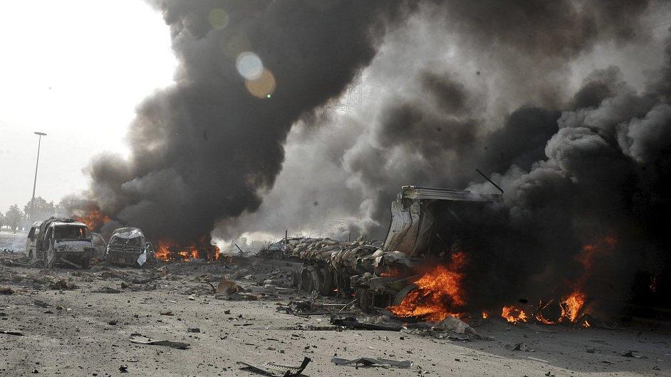 Boje v Sýrii - Ilustrační foto