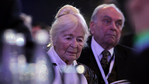 Předsedkyně politických vězňů Naděžda Kavalírová.